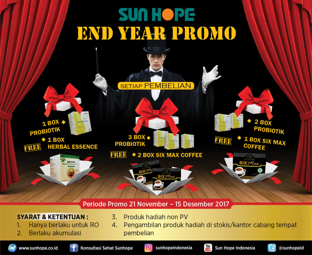 Pop Up End Year Promo